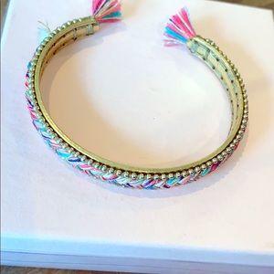 Bundle & Save Pink & Blue Braided Bracelet